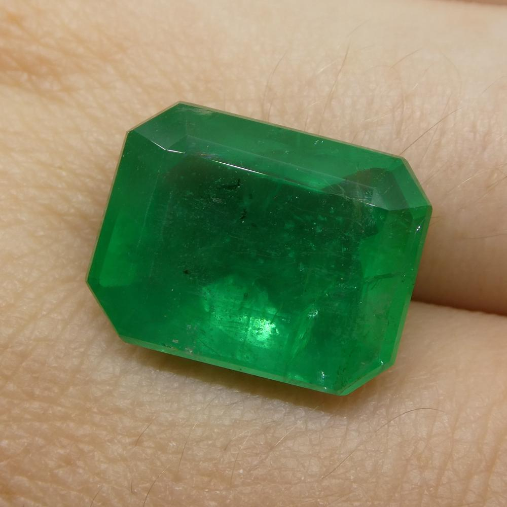 10.35ct Octagonal / Emerald Cut Emerald