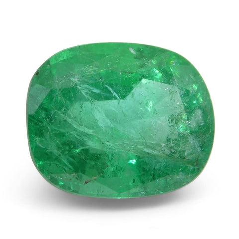 4.59ct Cushion Emerald