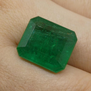 10.56ct Octagonal / Emerald Cut Emerald - Skyjems Wholesale Gemstones