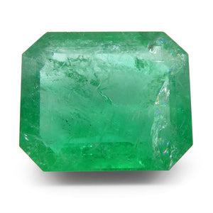 29.24ct Octagonal / Emerald Cut Zambian Emerald - Skyjems Wholesale Gemstones