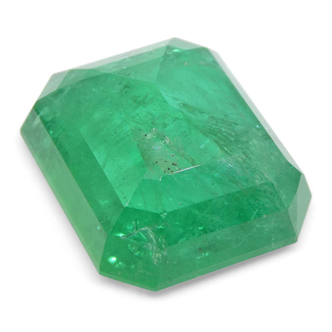 29.24ct Octagonal / Emerald Cut Zambian Emerald