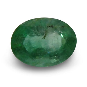 1.39 ct Oval Cut Emerald