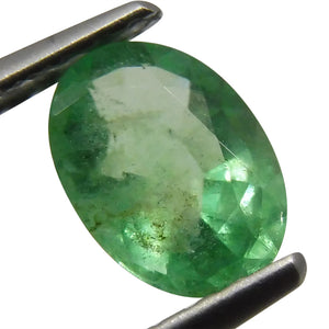 0.65 ct Oval Emerald