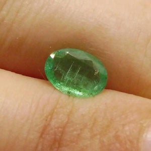 0.62 ct Oval Emerald