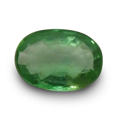 0.64 ct Oval Emerald