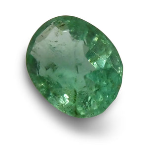 0.76 ct Oval Emerald