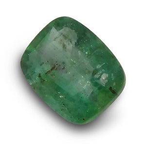 0.72 ct Cushion Cut Emerald