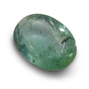 1.39 ct Oval Emerald