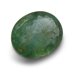 2.11 ct Oval Emerald