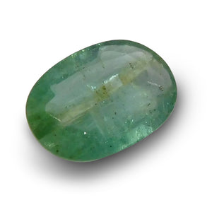 1.09 ct Oval Emerald