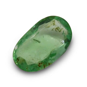Emerald 1.14 cts  Oval Green  $60