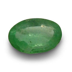 Emerald 1.57 cts  Oval Green  $80