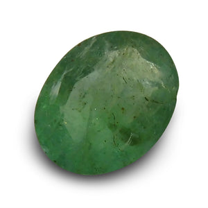 Emerald 1.34 cts  Oval Green  $70