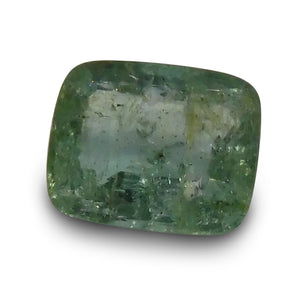 Emerald 1.63 cts  Cushion Green  $90