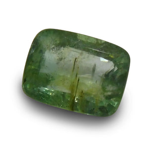 Emerald 1.26 cts  Cushion Green  $70