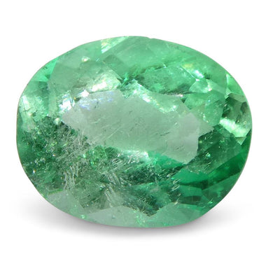 0.88 ct Oval Emerald Colombian - Skyjems Wholesale Gemstones