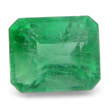 0.78 ct Emerald Cut Emerald Colombian - Skyjems Wholesale Gemstones