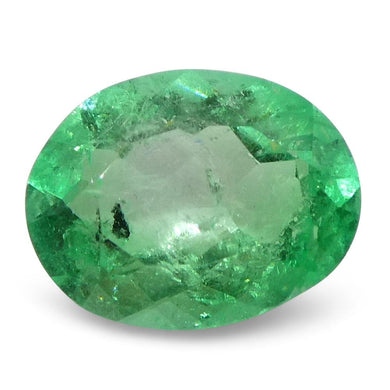 0.89 ct Oval Emerald Colombian - Skyjems Wholesale Gemstones
