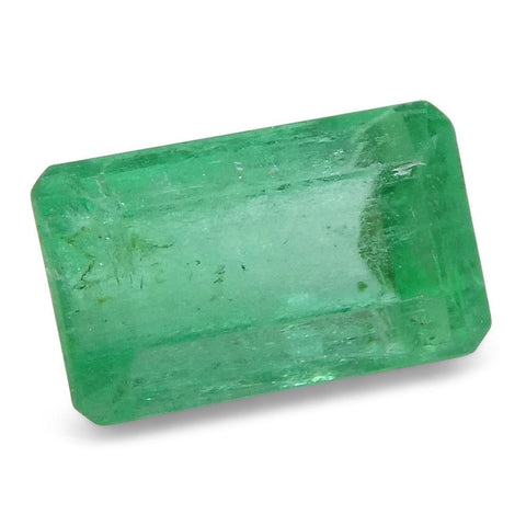 0.63 ct Baguette Emerald Colombian