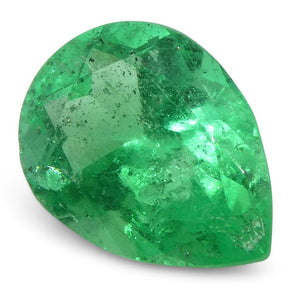 0.65 ct Pear Emerald Colombian - Skyjems Wholesale Gemstones