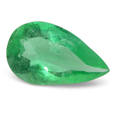 0.8 ct Pear Emerald Colombian - Skyjems Wholesale Gemstones