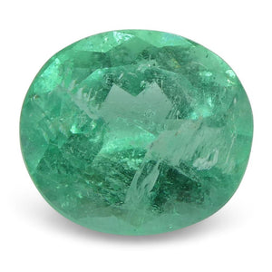 0.83 ct Oval Emerald Colombian - Skyjems Wholesale Gemstones