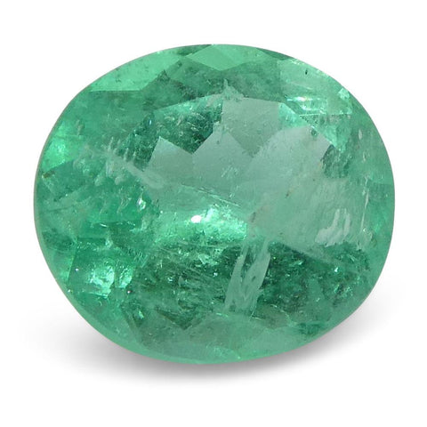 0.83 ct Oval Emerald Colombian