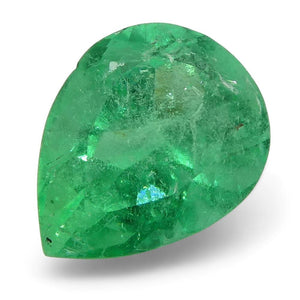 0.78 ct Pear Emerald Colombian - Skyjems Wholesale Gemstones