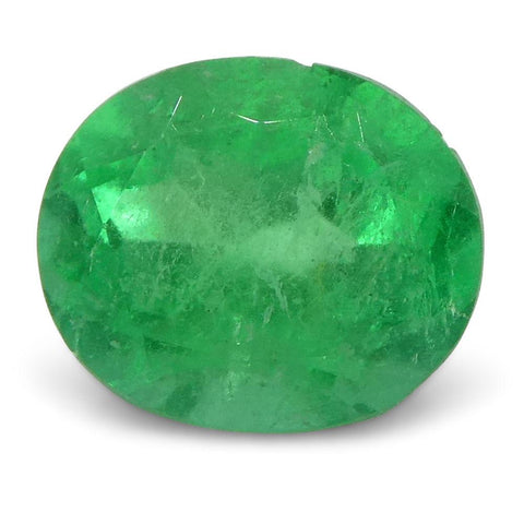0.57 ct Oval Emerald Colombian