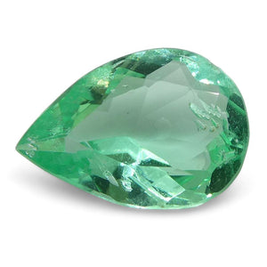 0.66 ct Pear Emerald Colombian - Skyjems Wholesale Gemstones
