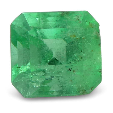 0.58 ct Squarre Emerald Colombian
