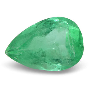 0.73 ct Pear Emerald Colombian - Skyjems Wholesale Gemstones