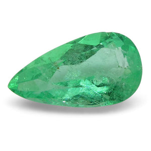 0.79 ct Pear Emerald Colombian - Skyjems Wholesale Gemstones