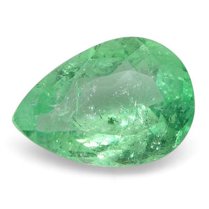 0.62 ct Pear Emerald Colombian - Skyjems Wholesale Gemstones