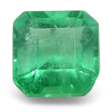 0.63 ct Square Emerald Colombian - Skyjems Wholesale Gemstones