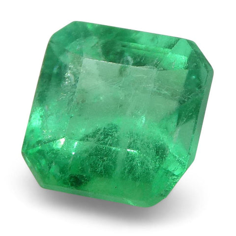 0.63 ct Square Emerald Colombian