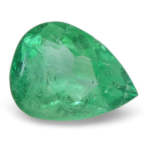 0.83 ct Pear Emerald Colombian - Skyjems Wholesale Gemstones