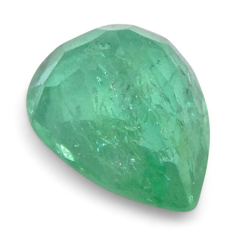 0.75 ct Pear Emerald Colombian