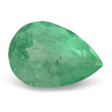0.61 ct Pear Emerald Colombian