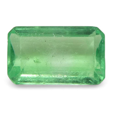 0.63 ct Emerald Cut Emerald Colombian - Skyjems Wholesale Gemstones