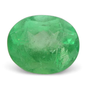 0.99 ct Oval Emerald Colombian - Skyjems Wholesale Gemstones