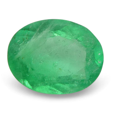 0.57 ct Oval Emerald Colombian - Skyjems Wholesale Gemstones