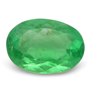 0.56 ct Oval Emerald Colombian - Skyjems Wholesale Gemstones