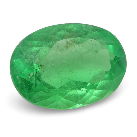 0.56 ct Oval Emerald Colombian