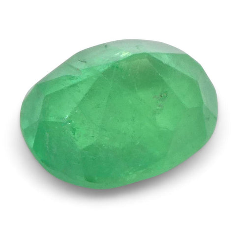 0.98 ct Oval Emerald Colombian