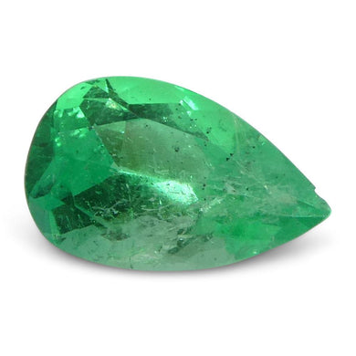 0.59 ct Pear Emerald Colombian