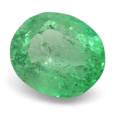 0.78 ct Oval Emerald Colombian - Skyjems Wholesale Gemstones