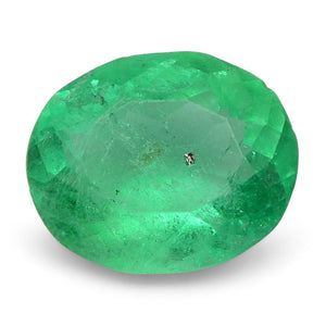 0.64 ct Oval Emerald Colombian