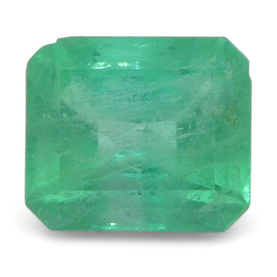 0.72 ct Emerald Cut Emerald Colombian - Skyjems Wholesale Gemstones