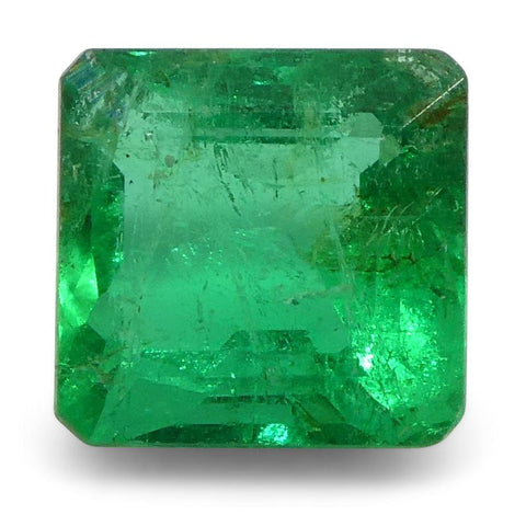 0.87 ct Square Emerald Colombian
